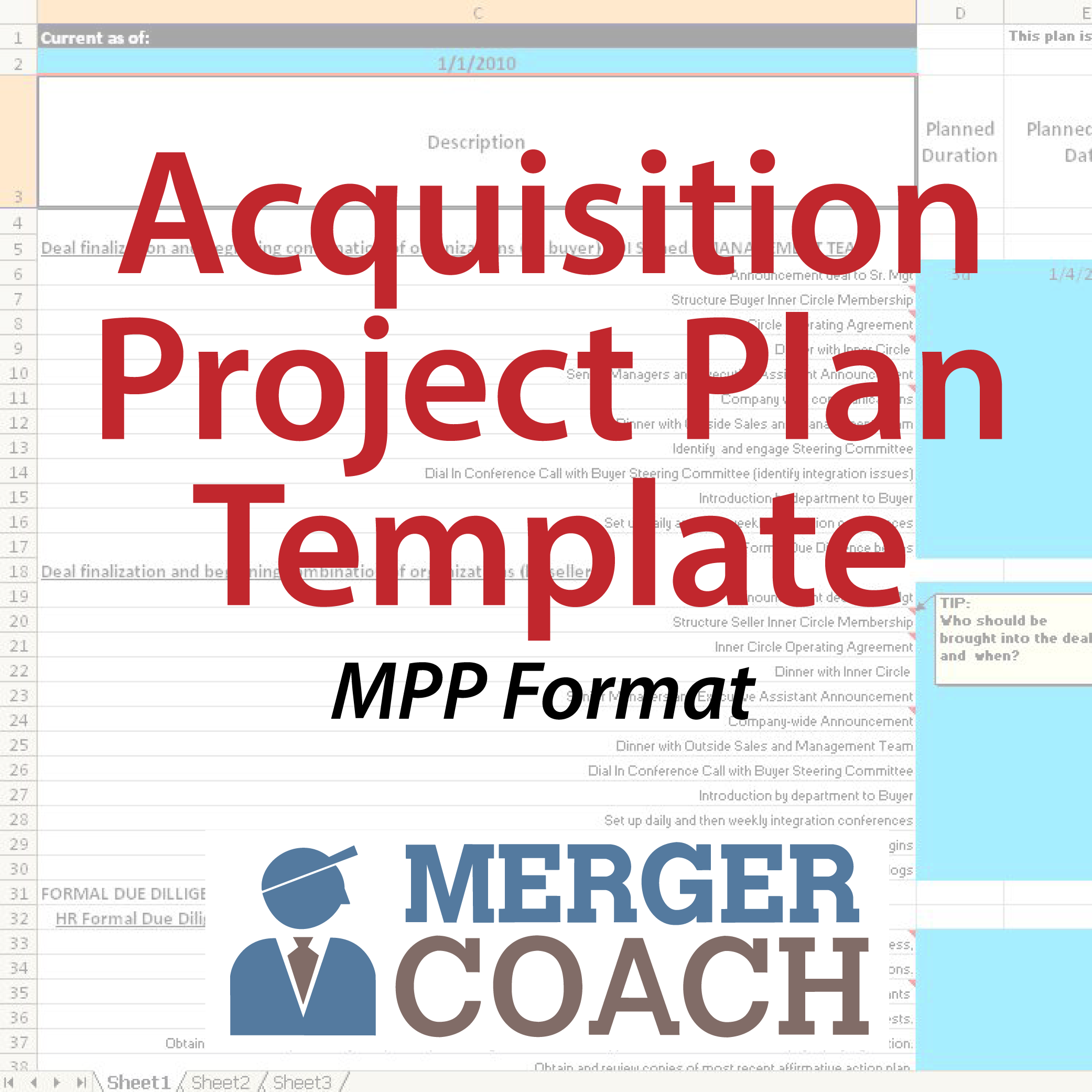 500x500 MPP Acquisition Project Plan Template 01 Acquisition Project Plan Template